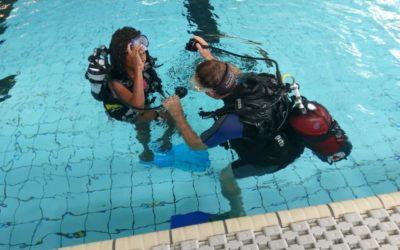 Journée de découverte de la plongée à Onex – 40 baptêmes