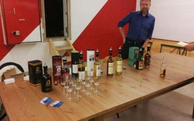 Soirée dégustation de Whisky