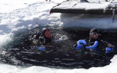 Sortie sous-glace à Taney