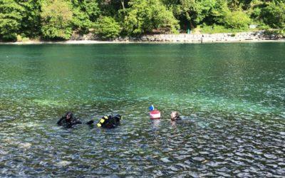 Sortie plongée dans le Rhône