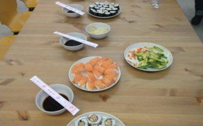 Soirée Sushi et Grand Bleu