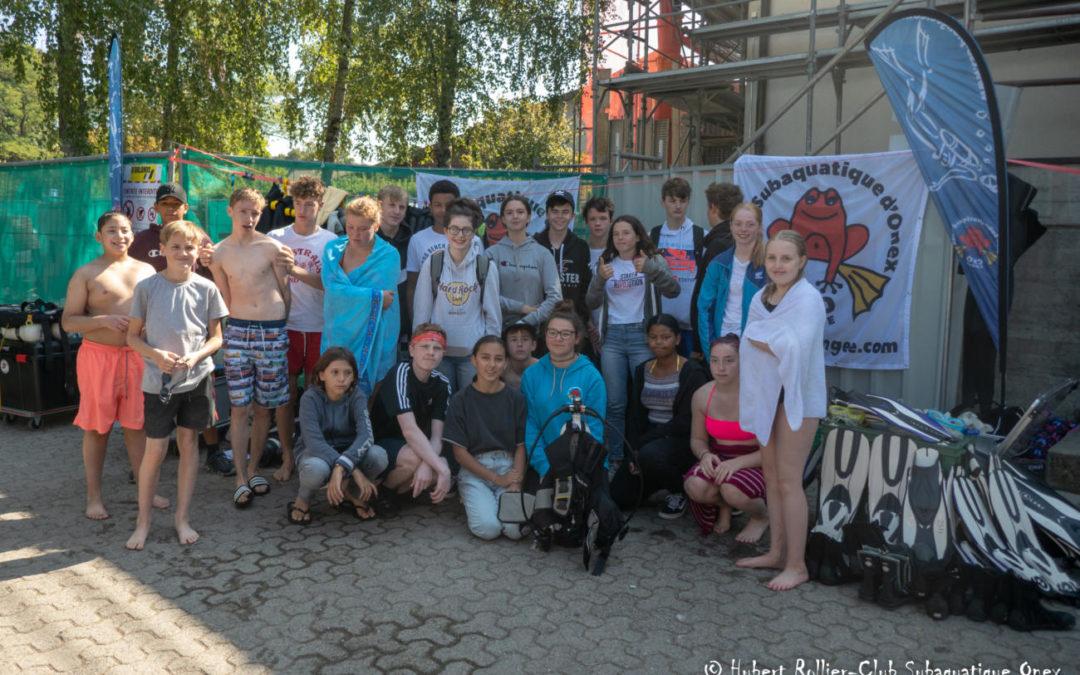 Retrouvez les photos de notre journée baptêmes à Hermance
