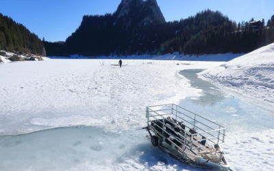Photos du week-end plongée sous-glace