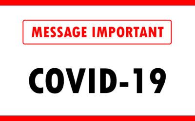 Covid-19 Prise de position de la FSSS