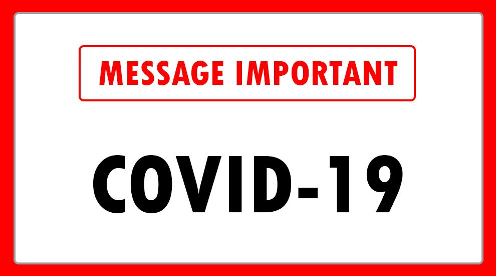 Covid-19 – Nouvelles règles sanitaires au CSO