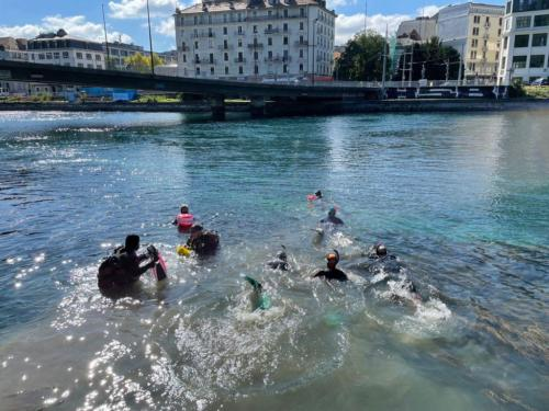 2021 Plongée dans le Rhône